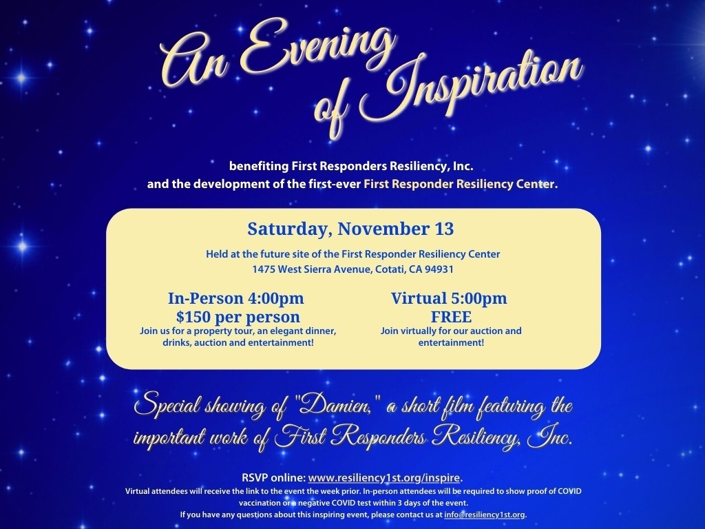 Evening of Inspiration – for FRRI website home page